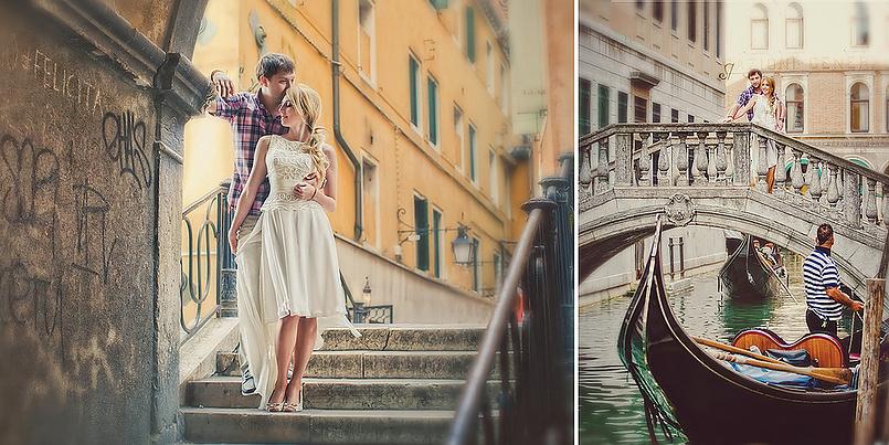 Свадьба в Венеции.