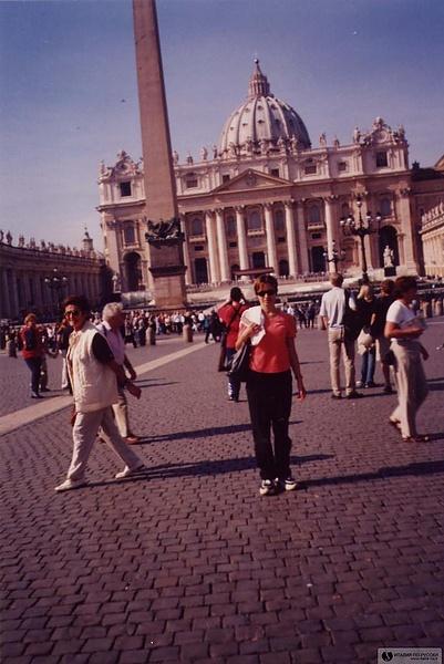 На приеме у Папы Римского