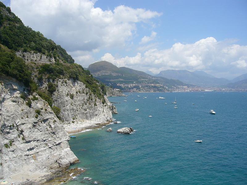 Амальфитанское побережье Италии
