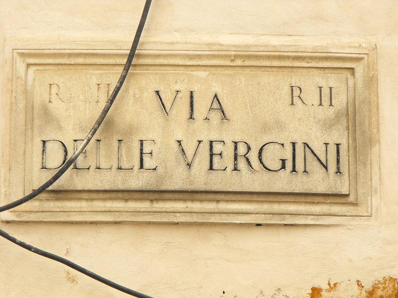 Самая женская улица Рима
