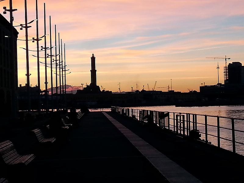 Genova. Porto antico