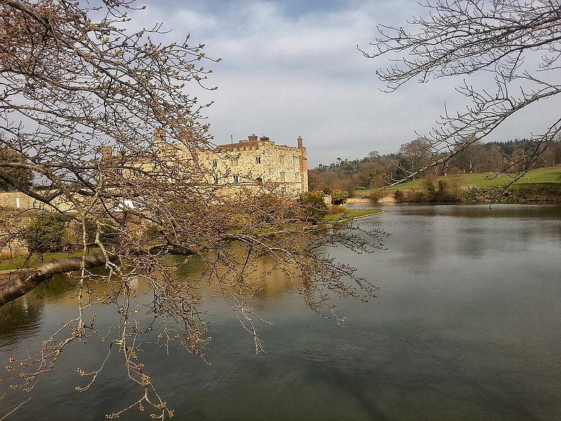 Замок Лидс. Англия
