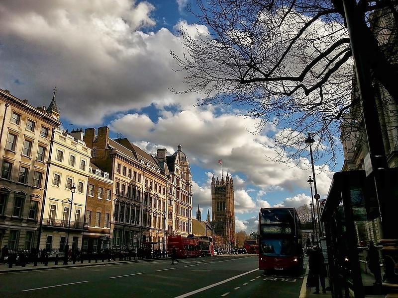 Лондон .Весна
