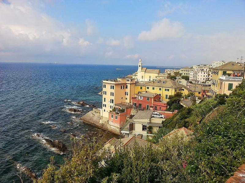 Bocca d'assi Italia. Genova