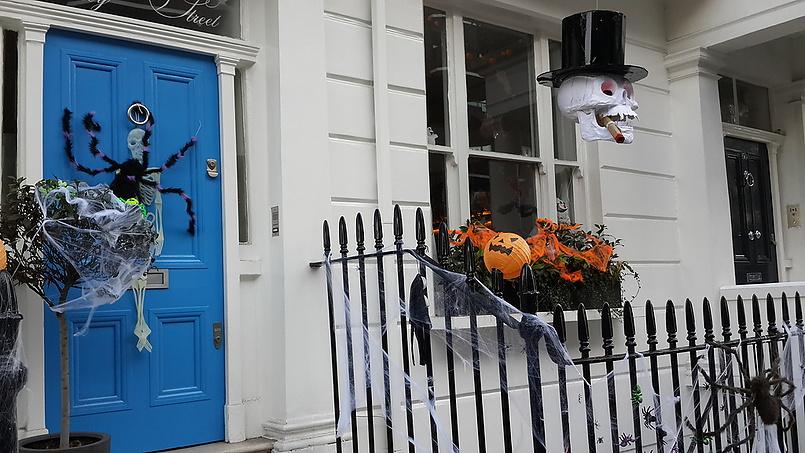 Хеллоуин в Лондоне 2