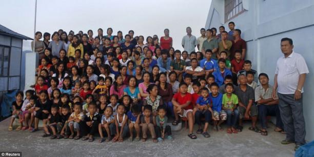 Самая многочисленная семья в мире