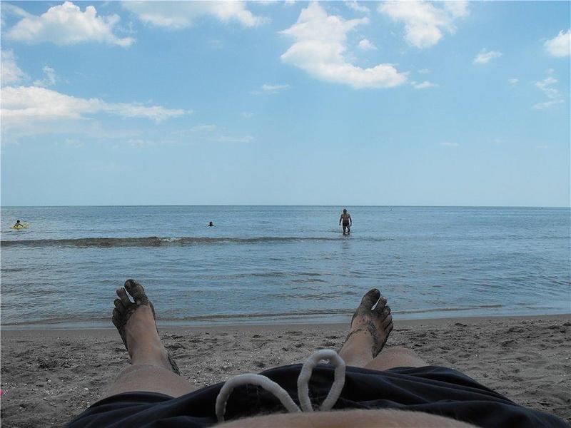 Пляжная расслабуха.