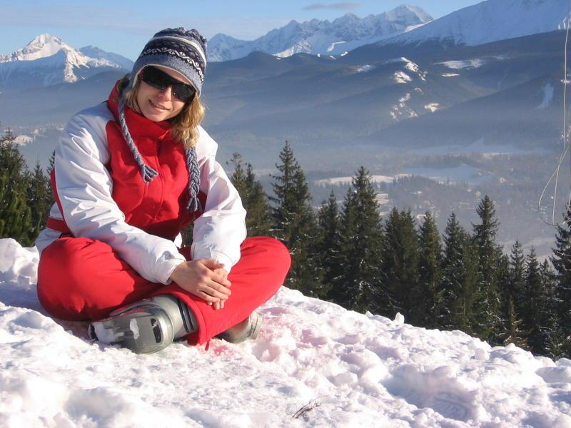 Это я на горно-лыжном курорте в Польше