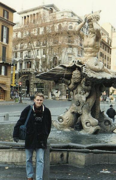 Первый раз в Риме.