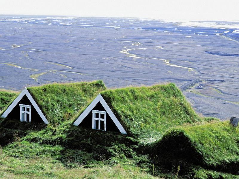 Исландские домики