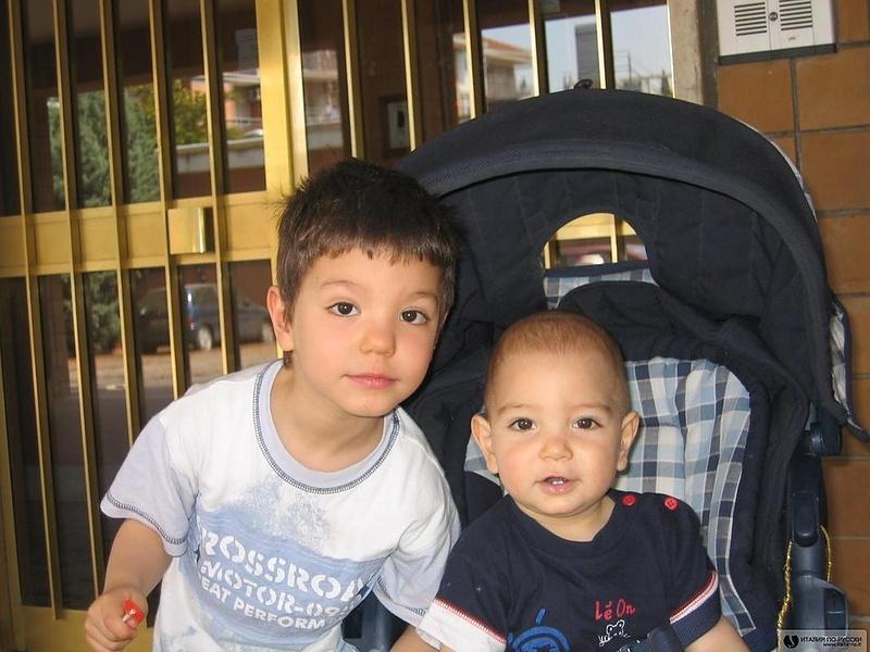 Мои младшие мальчишки!