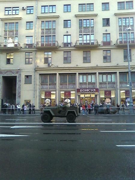 Москва готовиться к параду!
