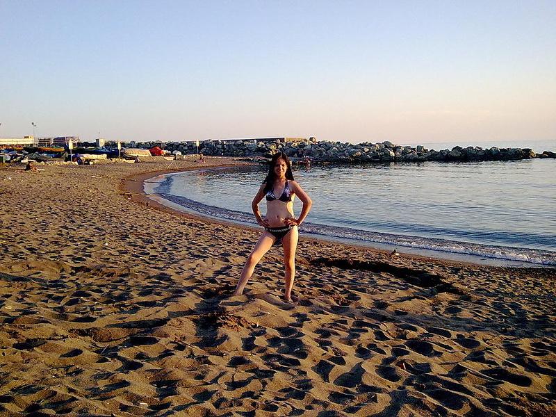 Пляж Лигурийского моря