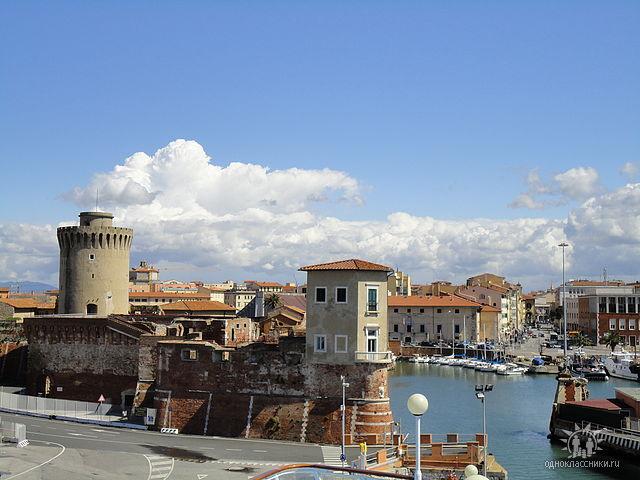 Livorno порт