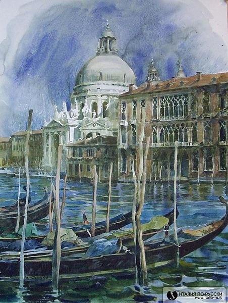 венеция акварель2