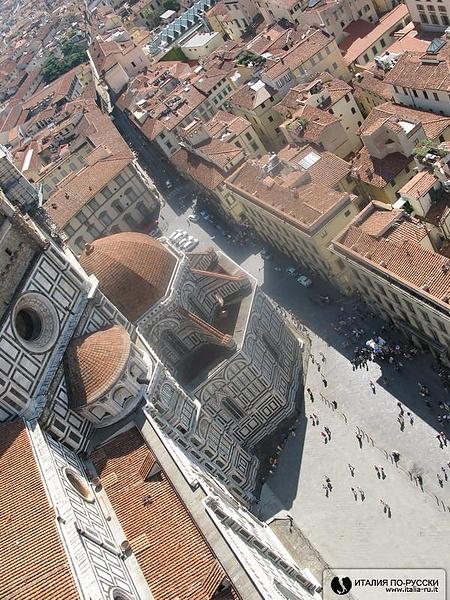 Флоренция сверху...