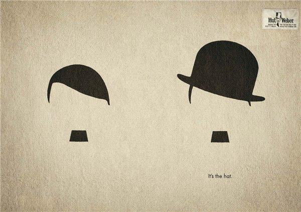 Все дело в шляпе :)