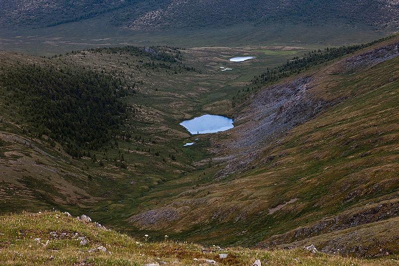О маааленьком озере в Саянах
