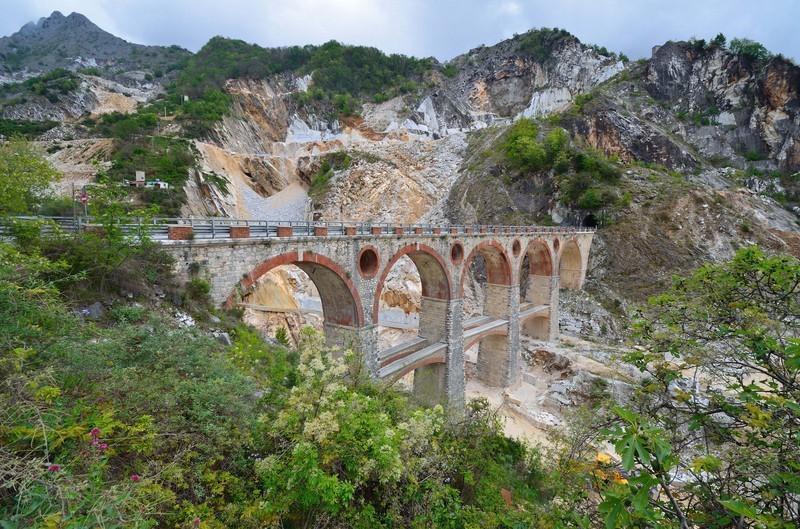 мраморные мосты провинции Масса-Каррара
