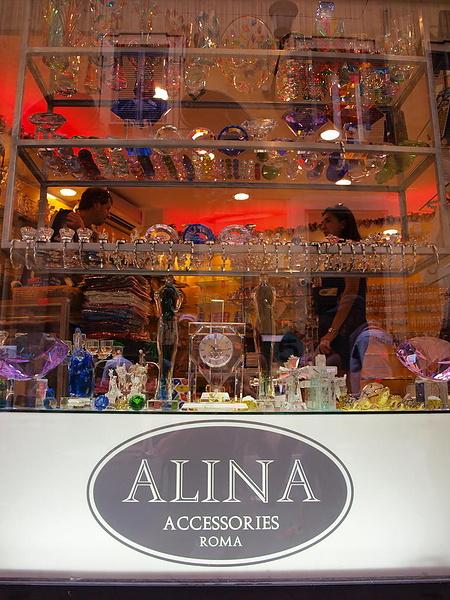 Алинка открыла магазин в Риме !!!