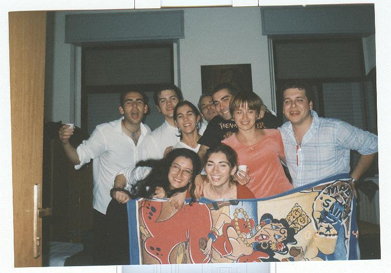 С испанцами (студенческий хор из Паленсии)