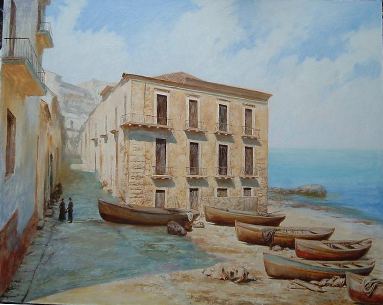 На берегу Калабрии