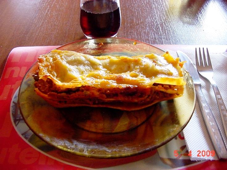 Сегодня баловались итальянской кухней...