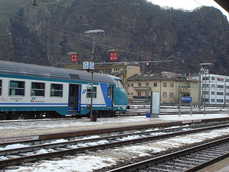 из Италии в Москву поездом