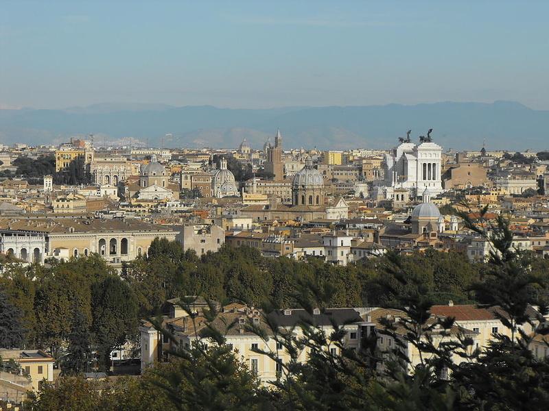 Рим в одной фотографии.