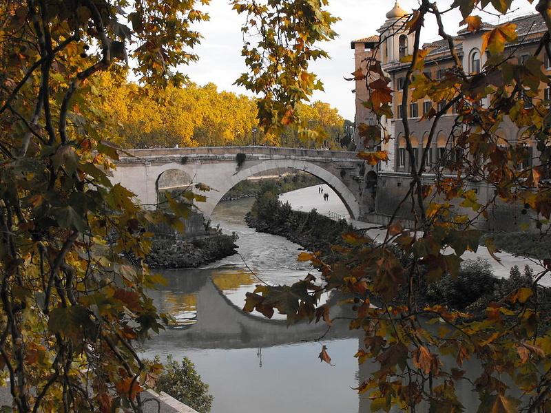 Осень в Риме