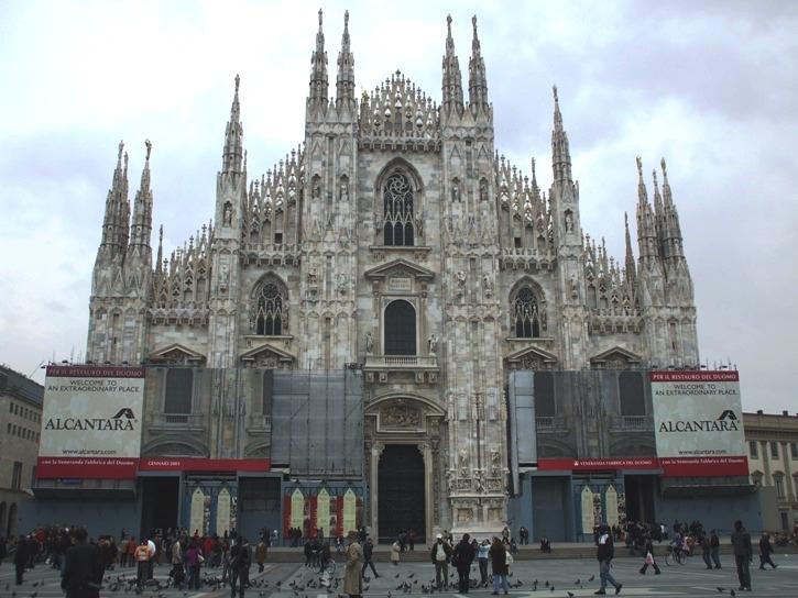 Дождливый Милан