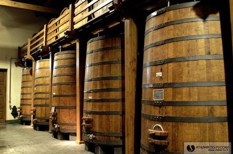 Сицилия. Маленькая винодельня