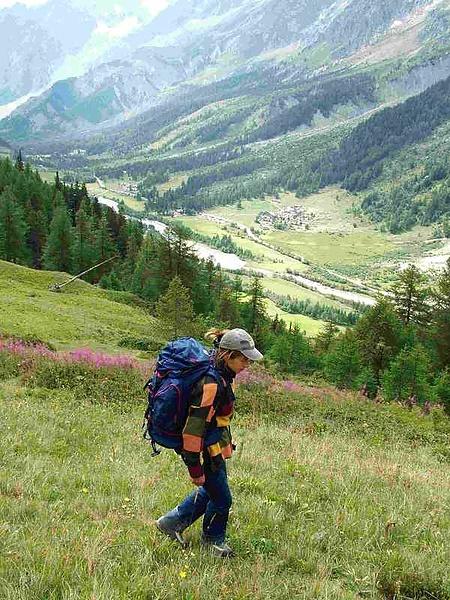 В Альпах (туризм форева!)