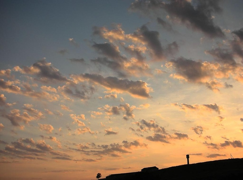 Летний крымский закат...