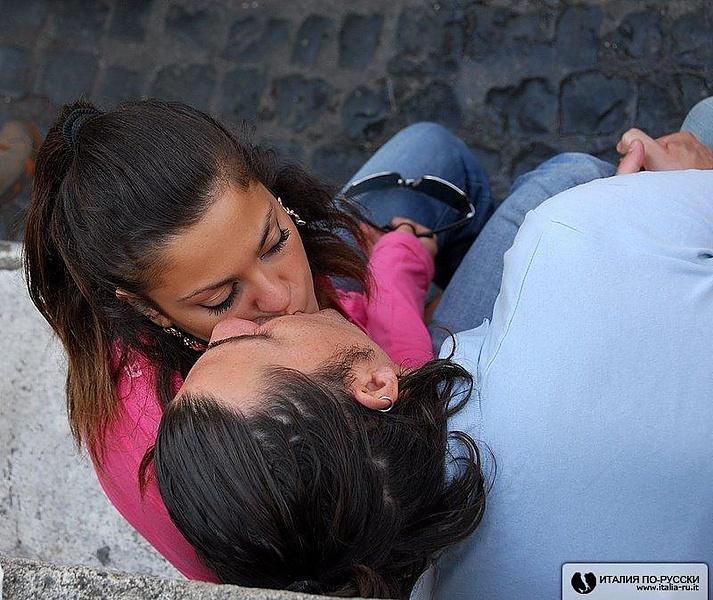 горячий итальянский поцелуй