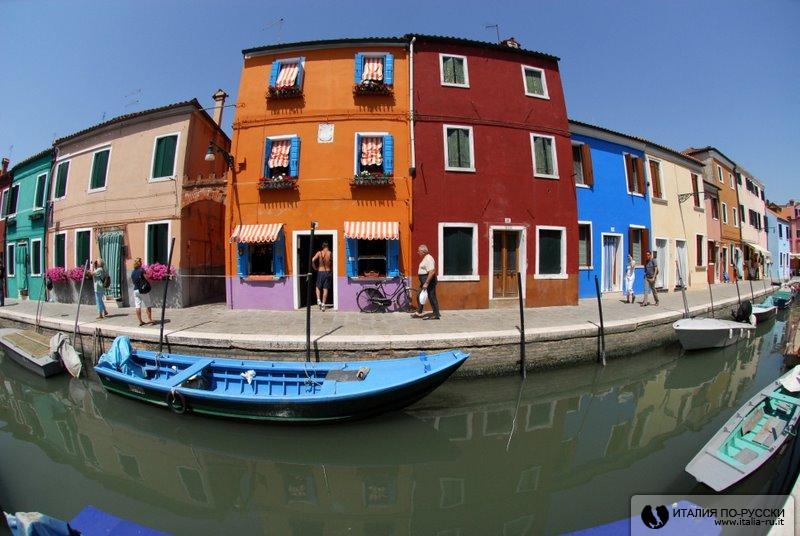 о.Бурано, Венеция