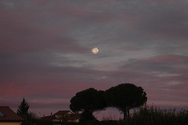 Луна на прошлой неделе