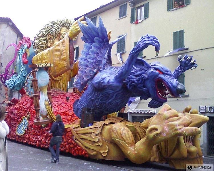 Карнавал в Фойано (Тоскана)