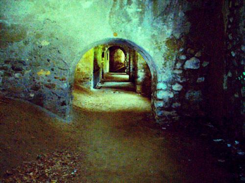 Forte di Vinadio (Внутри стен)