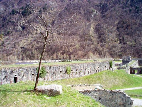 Forte di Vinadio (Нижняя часть форта)