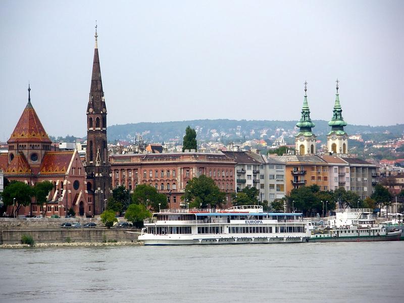 Будапешт с Дуная