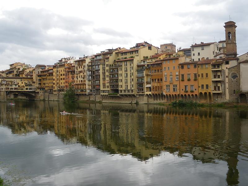 Флоренция и отражения