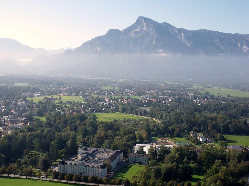 Вид с крепости Хоензальцбург