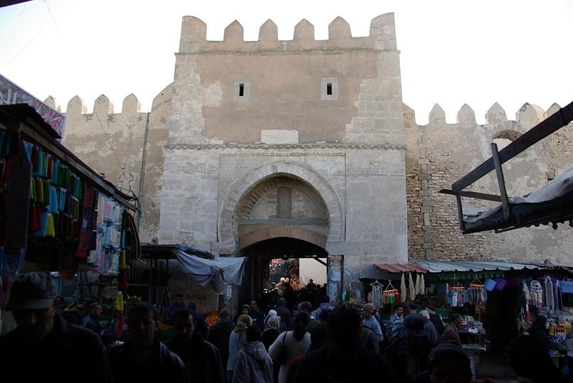 Тунис, город Сфакс. Медина...