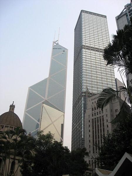 небоскребыюююbank of China