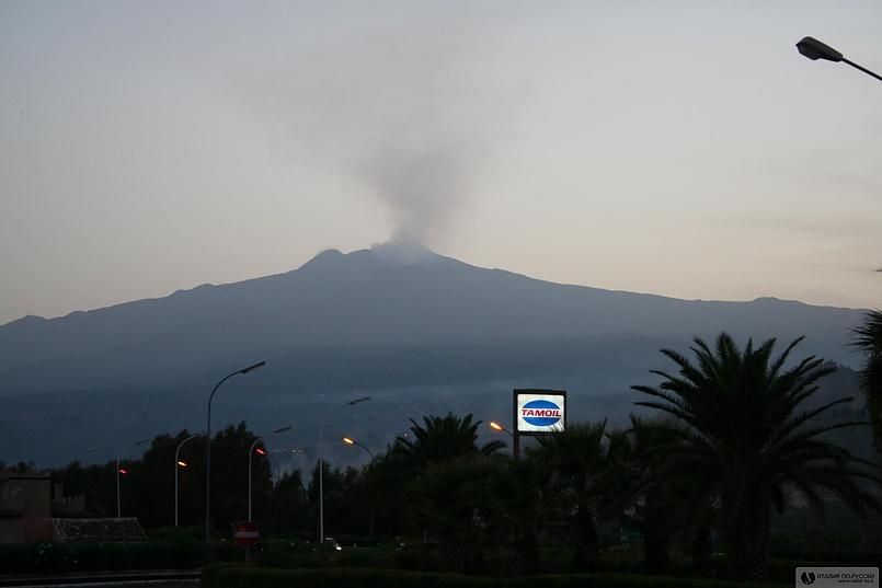 Этна. Сицилия.