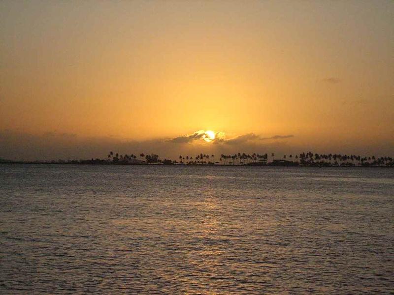 Закат в San Juan