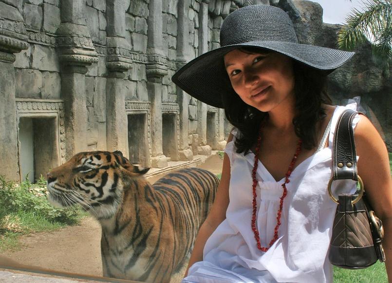 io e la tigre))