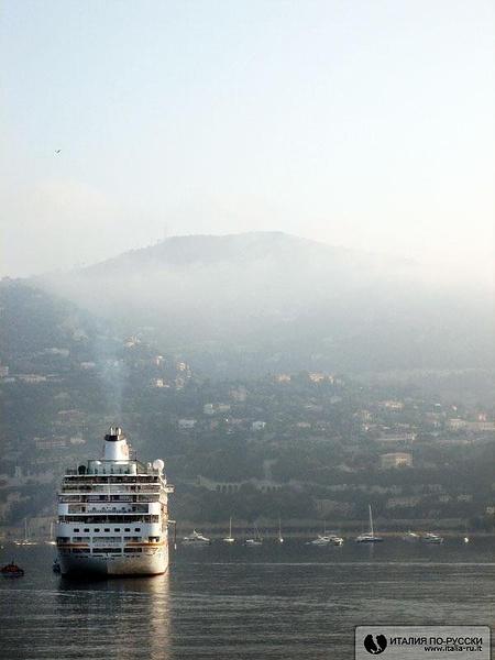 Civitavecchia. Утро туманное