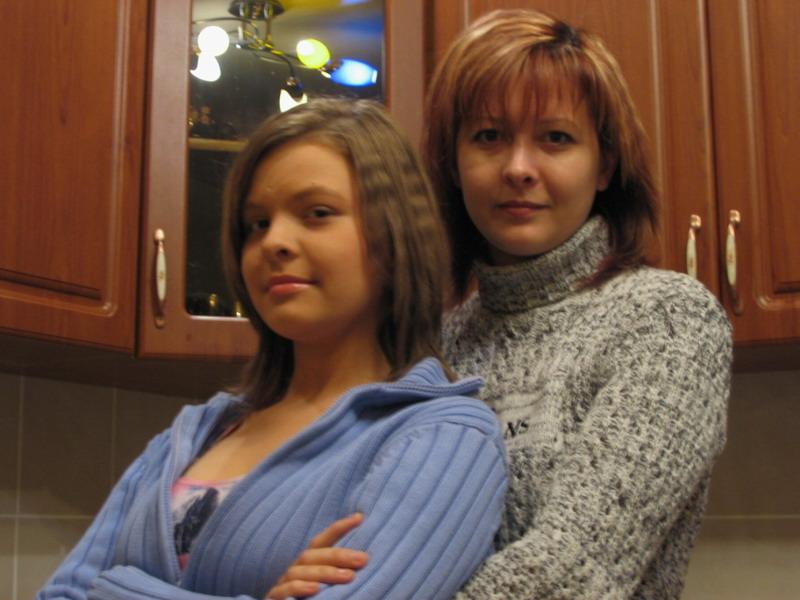 Мы с дочей
